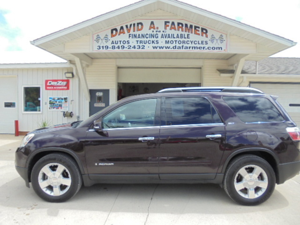 2008 GMC Acadia  - David A. Farmer, Inc.