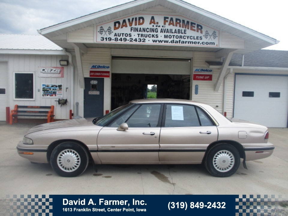 1999 Buick LeSabre Custom 4 Door**Leather/Low Miles**  - 4736-2  - David A. Farmer, Inc.