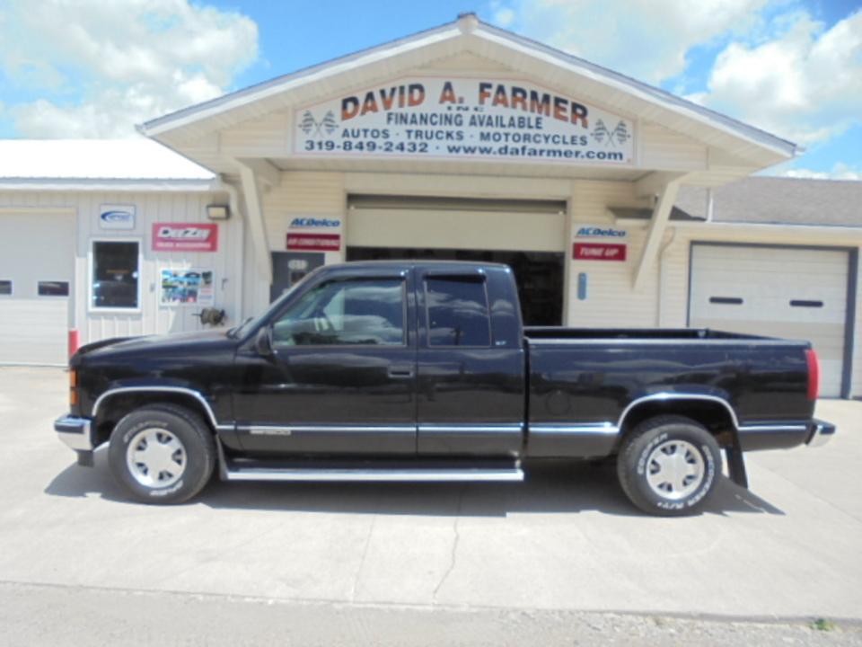 1996 GMC Sierra 1500 Pickup Extended Cab Short Bed  - David A. Farmer, Inc.