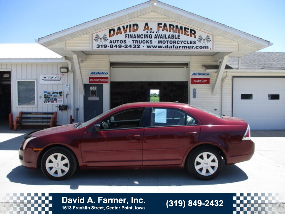 2007 Ford Fusion S 4 Door**Low Miles/117K/Remote Start**  - 4984  - David A. Farmer, Inc.