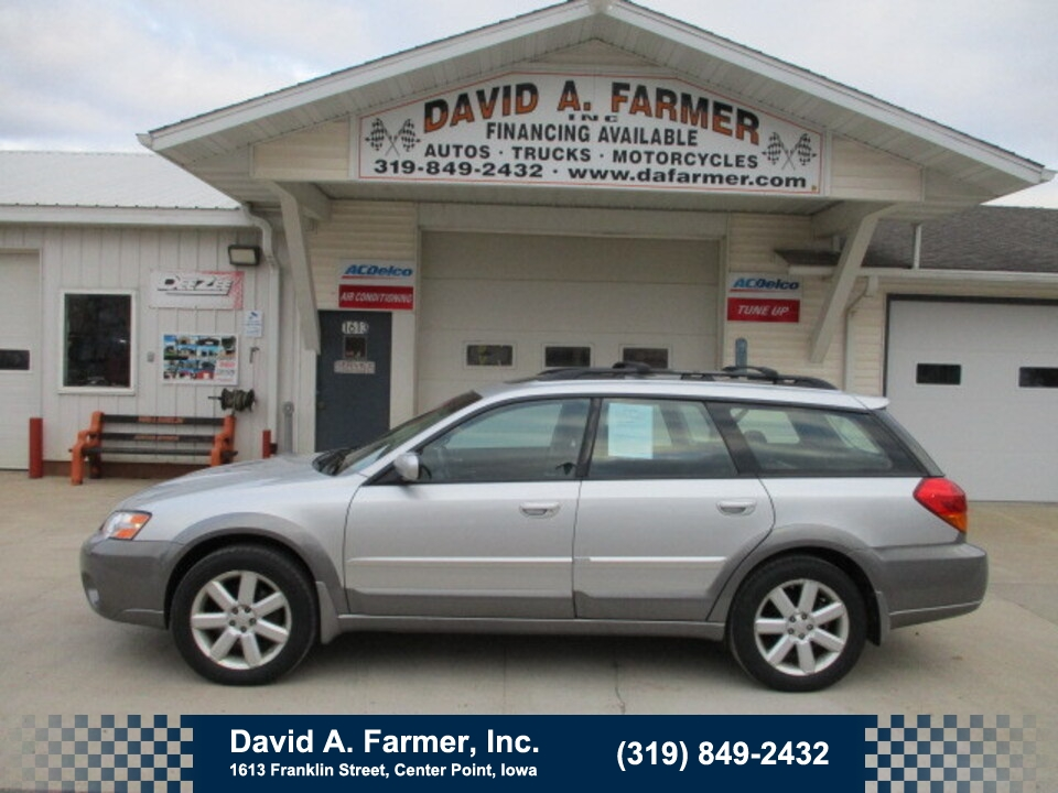 2007 Subaru Outback Legacy Limited AWD**1 Owner**  - 4831  - David A. Farmer, Inc.
