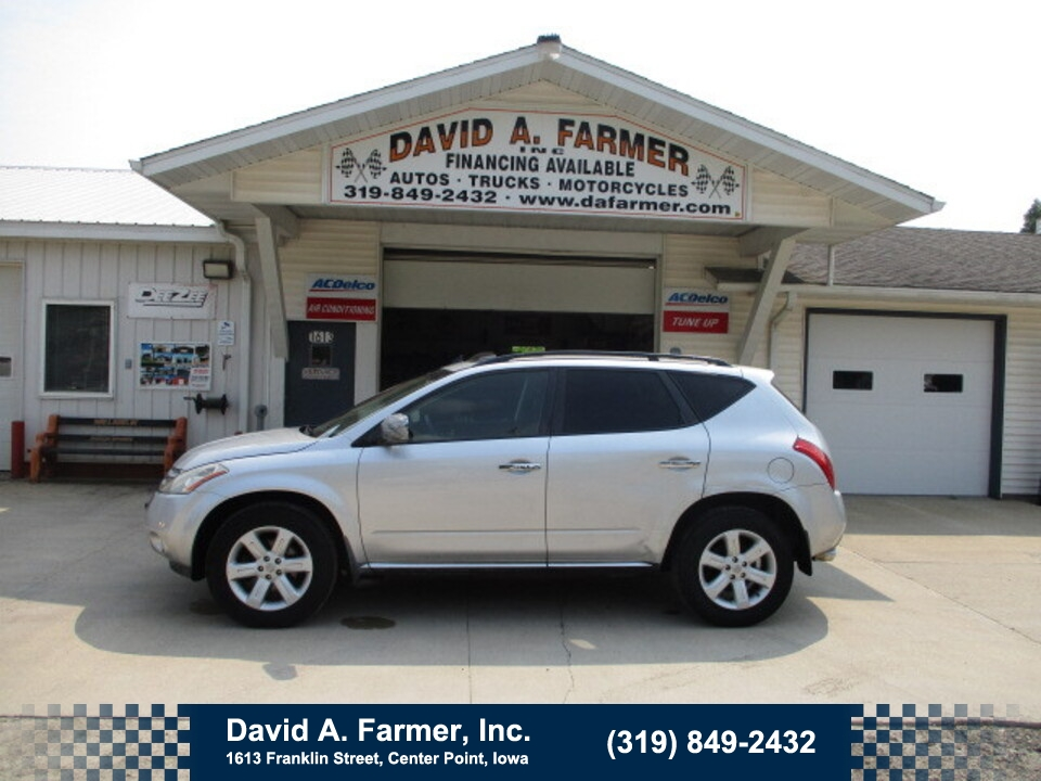 2006 Nissan Murano SL AWD**1 Owner/Low Miles/90K**  - 5028  - David A. Farmer, Inc.