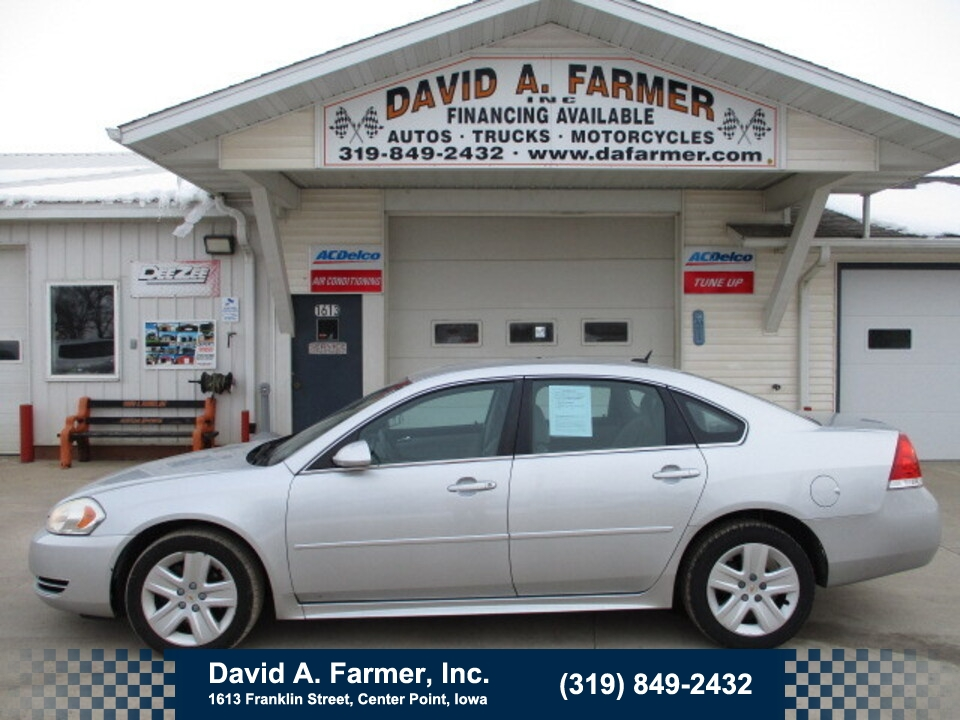 2011 Chevrolet Impala LS 4 Door**2 Owner/New Tires**  - 4868  - David A. Farmer, Inc.