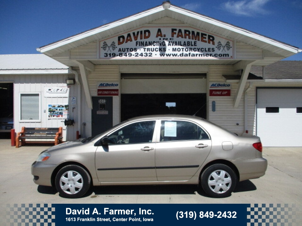 2006 Toyota Corolla CE 4 Door  - 4992  - David A. Farmer, Inc.