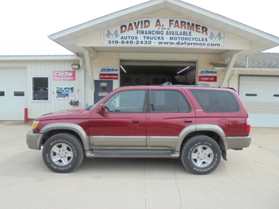 2000 Toyota 4Runner Limited 4X4**New Bridgestone Tires/Nice**  - 4550  - David A. Farmer, Inc.