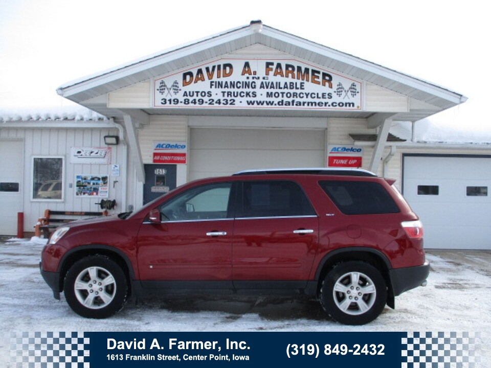 2009 GMC Acadia  - David A. Farmer, Inc.