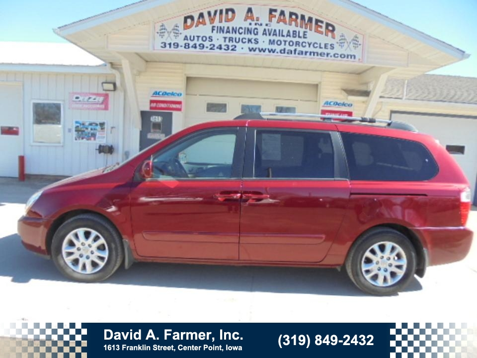 2008 Kia Sedona  - David A. Farmer, Inc.