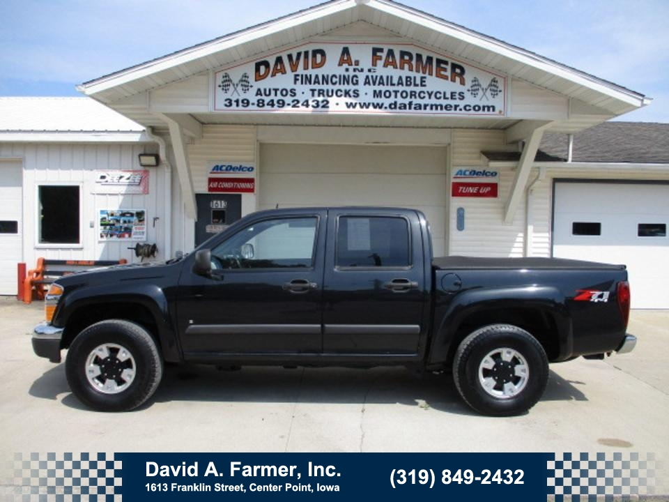 2008 Chevrolet Colorado LT Crew Cab 4x4 Z71**1 Owner**  - 4764  - David A. Farmer, Inc.
