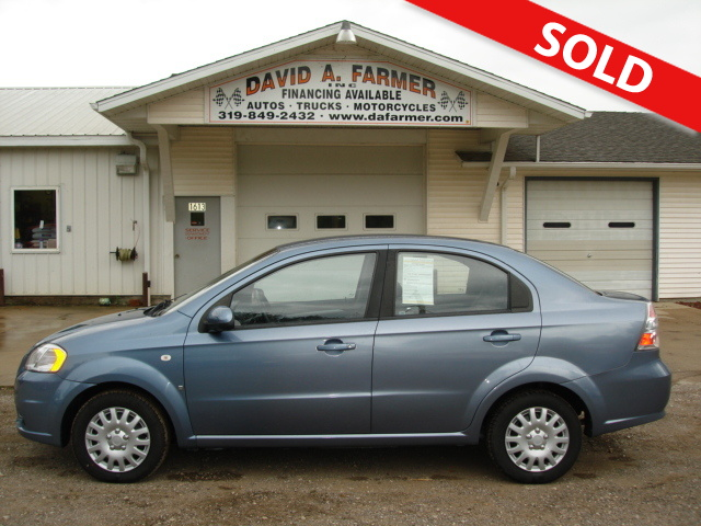 2008 Chevrolet Aveo LS 4 Door Sedan With Factory Warranty Remaining!