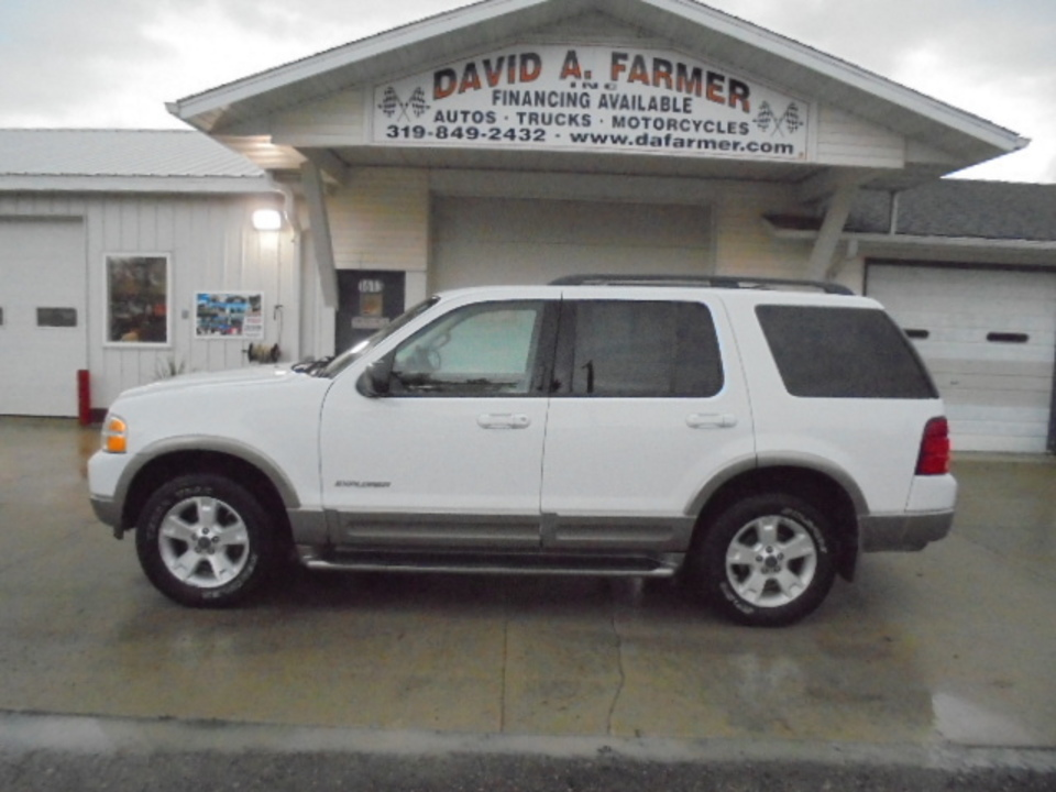 2004 ford explorer eddie bauer 4x4**3rd row seat/loaded** - stock