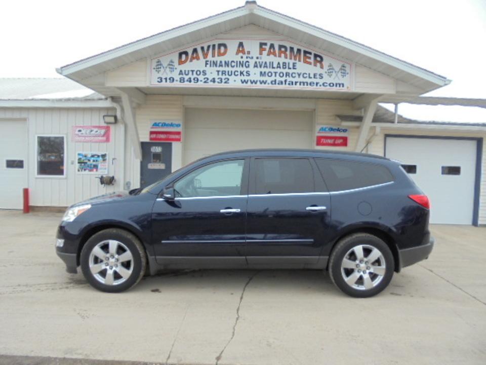 2010 Chevrolet Traverse LTZ AWD**Heated&Cooled Leather/Sunroof/3rd Row**  - 4636  - David A. Farmer, Inc.