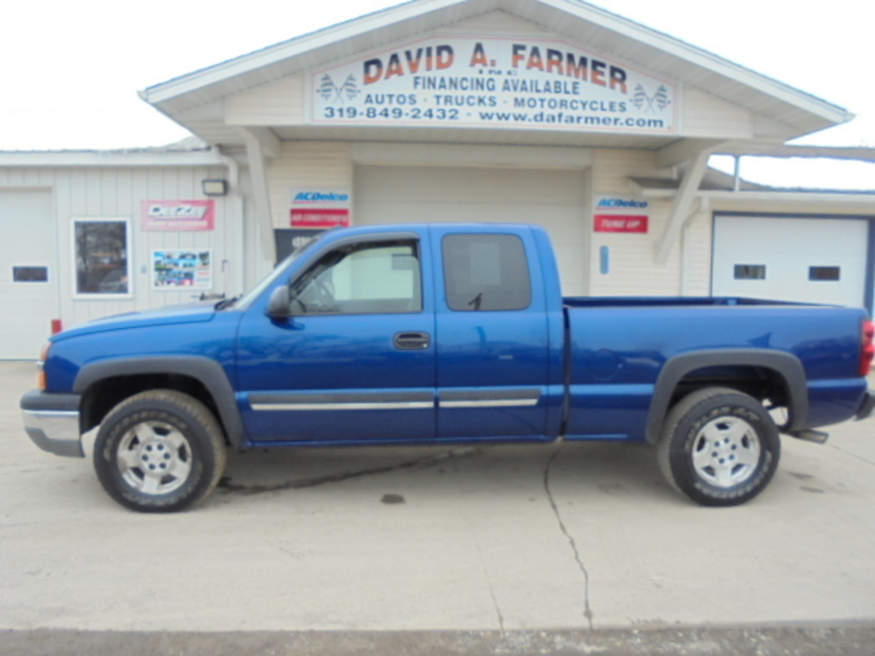 2004 Chevrolet Silverado 1500 LT X-Cab 4 Door 4X4**Sharp/Loaded**  - 4638  - David A. Farmer, Inc.