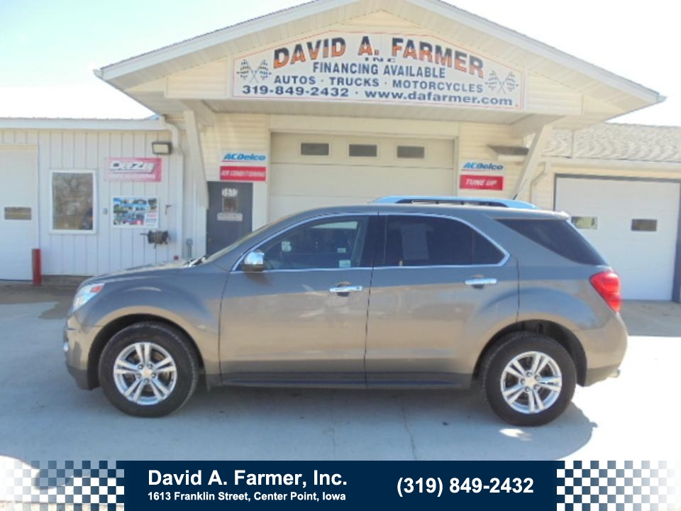 2012 Chevrolet Equinox LTZ AWD*Heated Leather/Remote Start/Sunroof**  - 4600-1  - David A. Farmer, Inc.