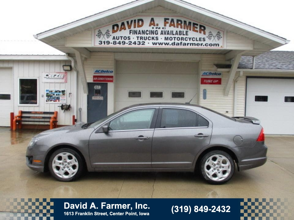 2011 Ford Fusion SE 4 Door**Low Miles/Sunroof**  - 4782  - David A. Farmer, Inc.