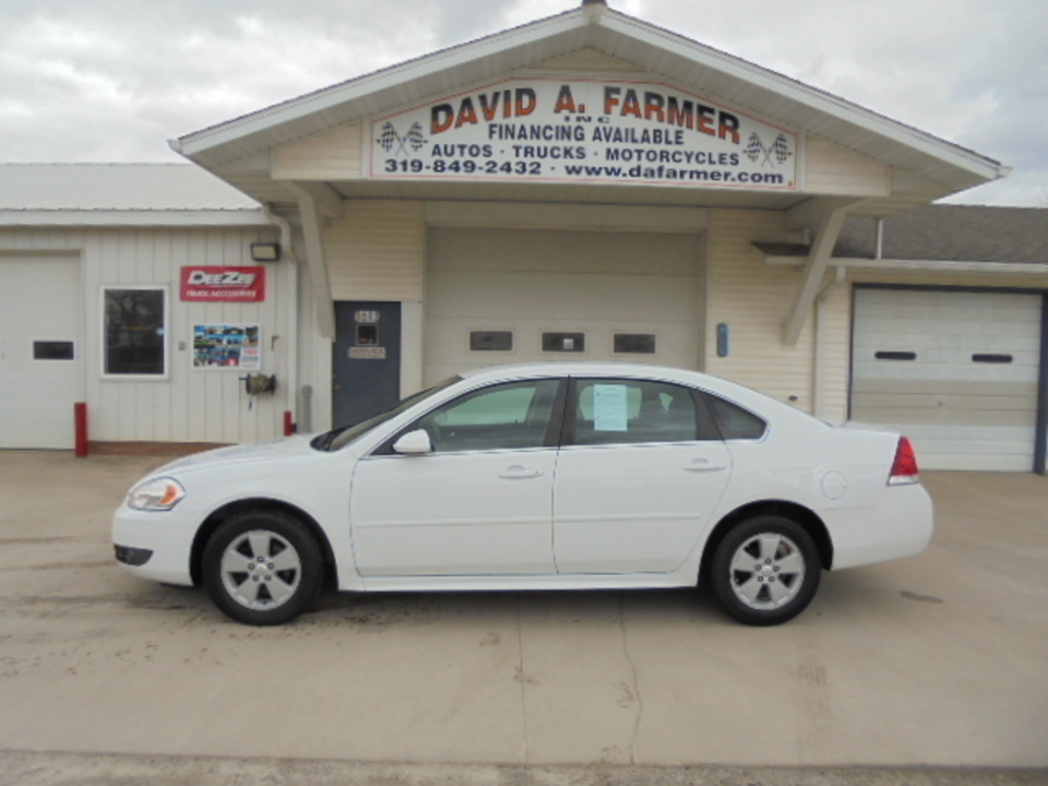 2011 Chevrolet Impala LT 4 Door**2 Owner/Low Miles**  - 4446  - David A. Farmer, Inc.