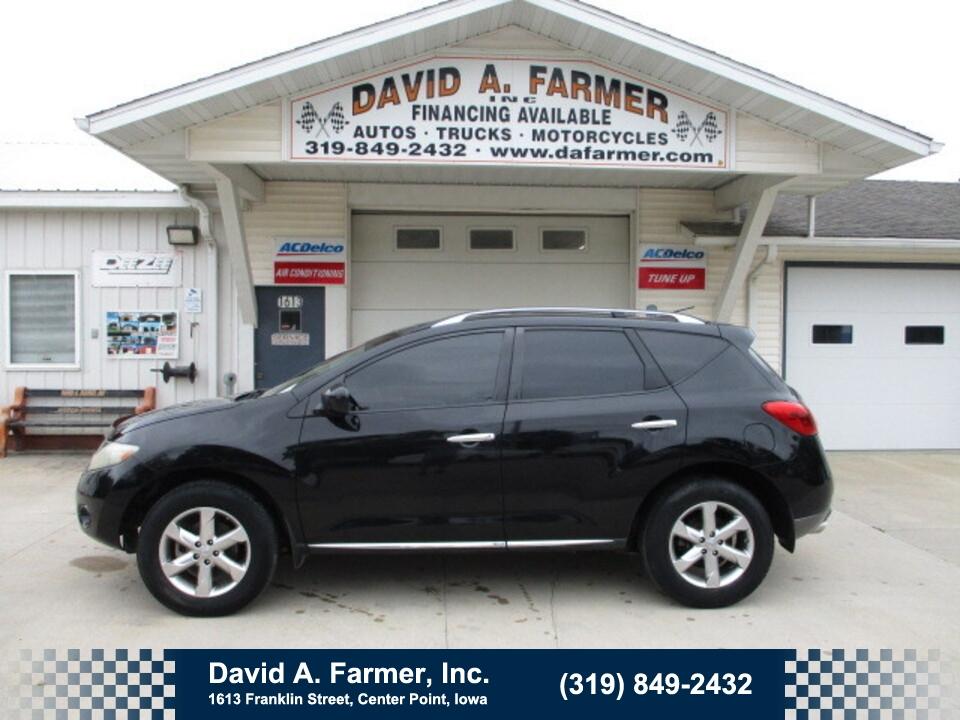 2010 Nissan Murano SL FWD 4 Door**Heated Leather/Low Miles/108K**  - 5092  - David A. Farmer, Inc.