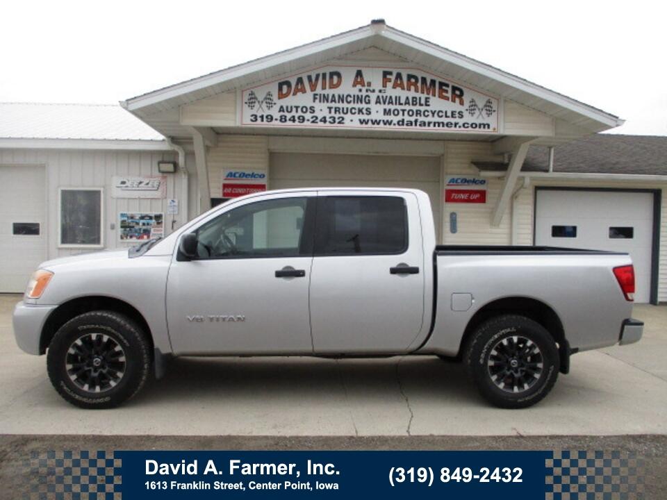 2008 Nissan Titan LE Crew Cab 4X4**1 Owner/Rust Free Southern Truck*  - 4916  - David A. Farmer, Inc.