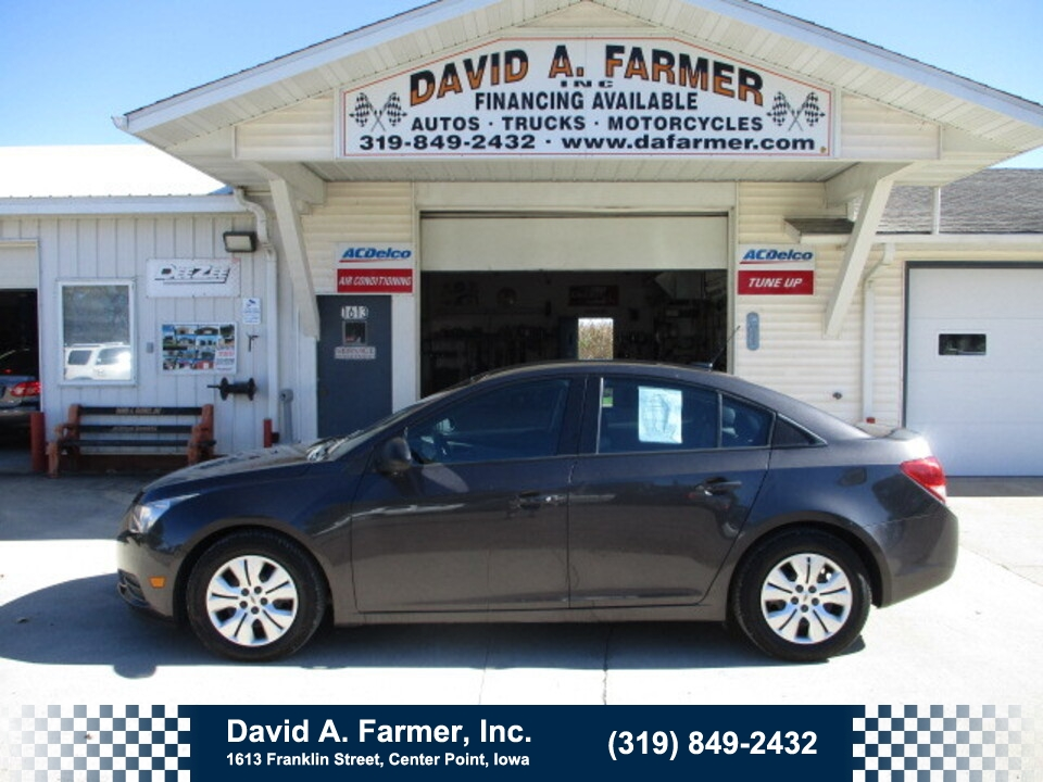 2014 Chevrolet Cruze LS 4 Door**1 Owner/Low Miles/90K**  - 5105  - David A. Farmer, Inc.