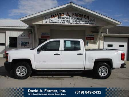2014 Chevrolet Silverado 1500 W/T Crew Cab 4X4**1 Owner** for Sale  - 4801  - David A. Farmer, Inc.
