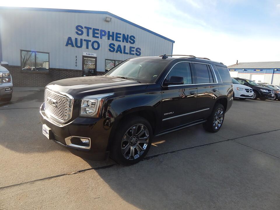 2017 GMC Yukon  - Stephens Automotive Sales