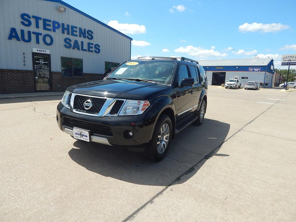 2012 Nissan Pathfinder  - Stephens Automotive Sales
