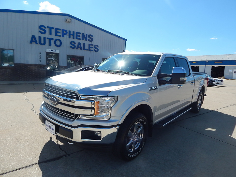2019 Ford F-150 LARIAT  - D51759  - Stephens Automotive Sales