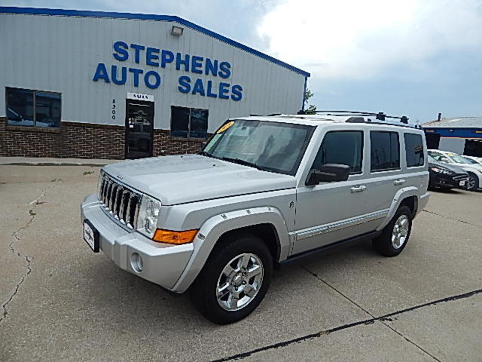 2008 Jeep Commander  - Stephens Automotive Sales