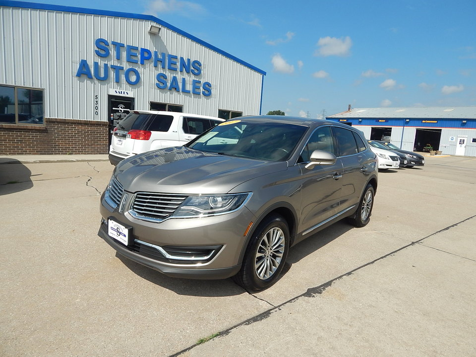 2017 Lincoln MKX Select  - 29H  - Stephens Automotive Sales
