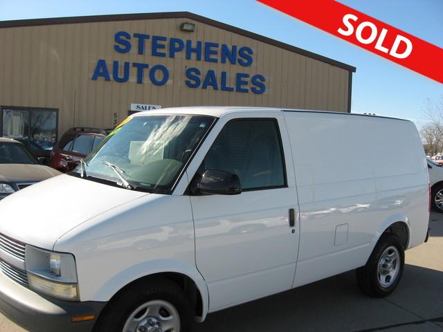 2003 Chevrolet Astro Cargo Van Stock B412437 Johnston Ia 50131