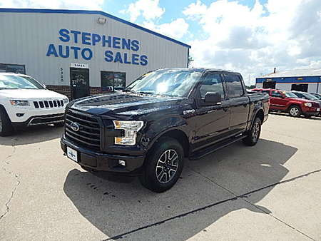 2015 Ford F-150 XLT/FX4 for Sale  - A05290  - Stephens Automotive Sales