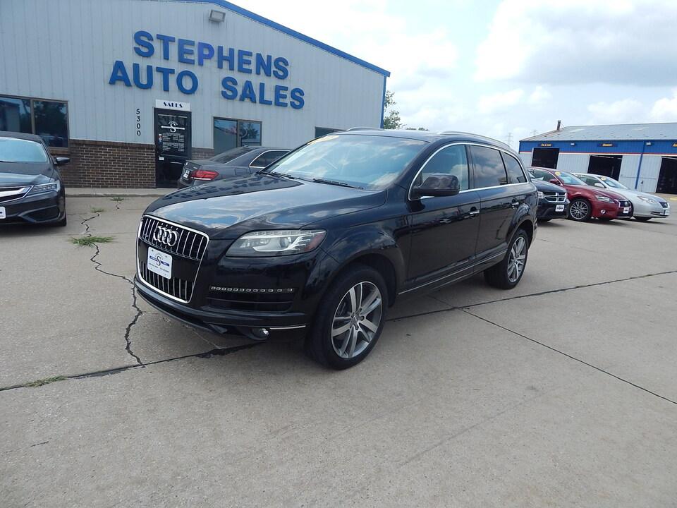 2012 Audi Q7 3.0T Premium Plus  - 002078  - Stephens Automotive Sales