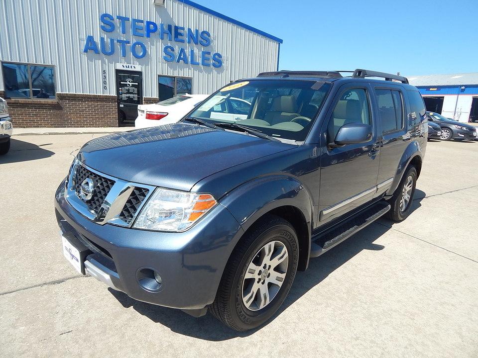 2008 Nissan Pathfinder  - Stephens Automotive Sales