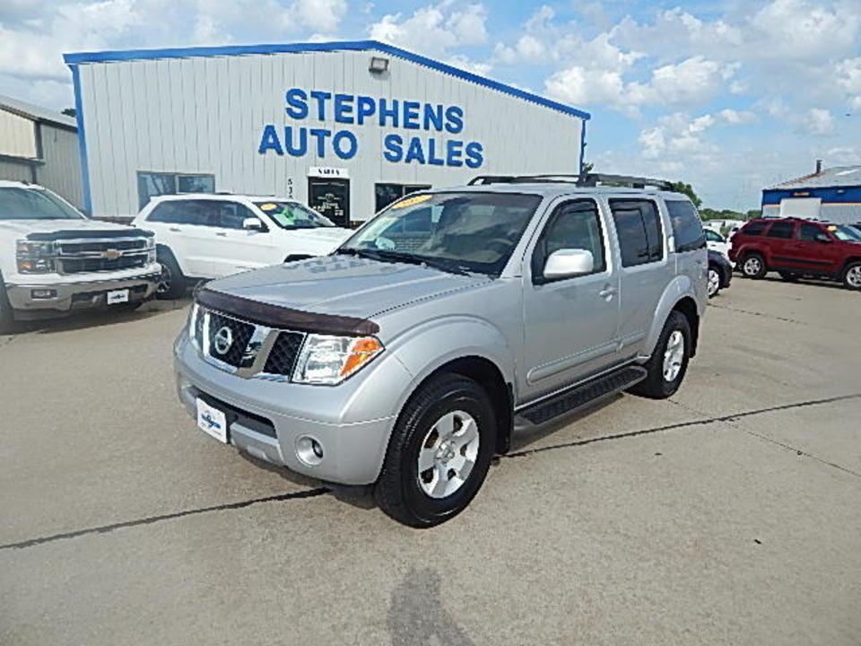 2007 Nissan Pathfinder  - Stephens Automotive Sales