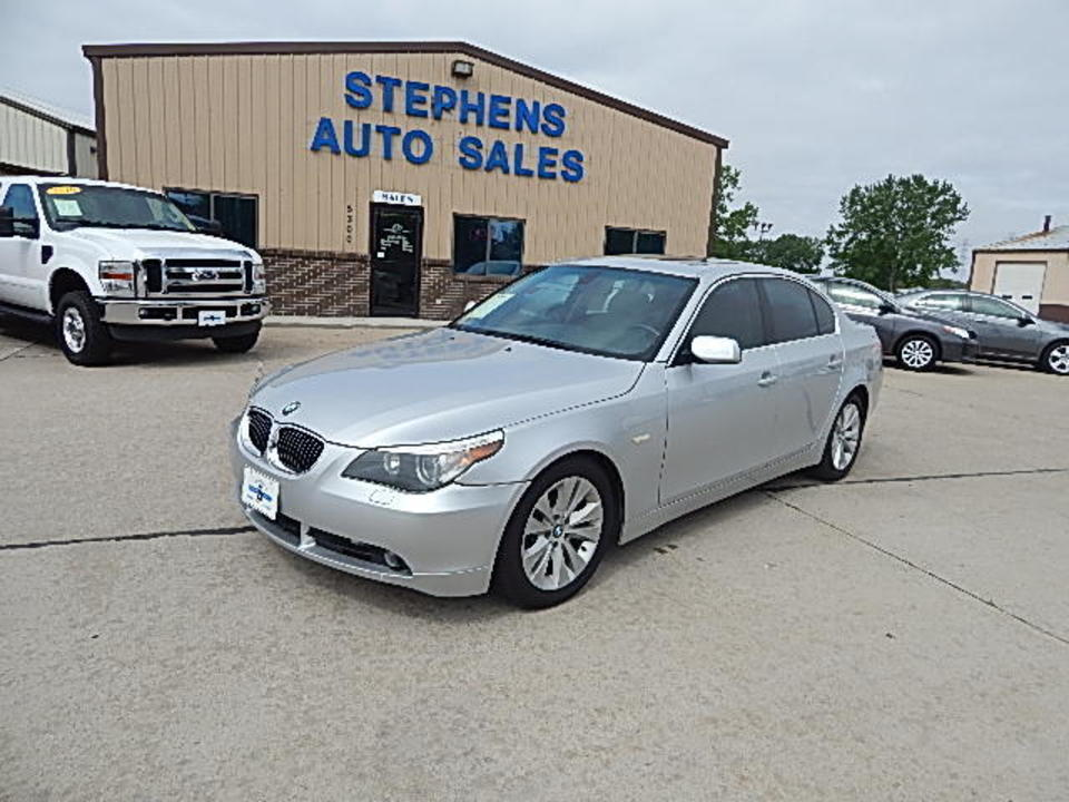 2004 BMW 5 Series 545i  - 20  - Stephens Automotive Sales