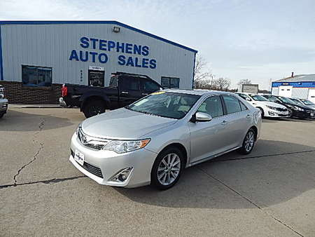 2013 Toyota Camry XLE for Sale  - 10U  - Stephens Automotive Sales