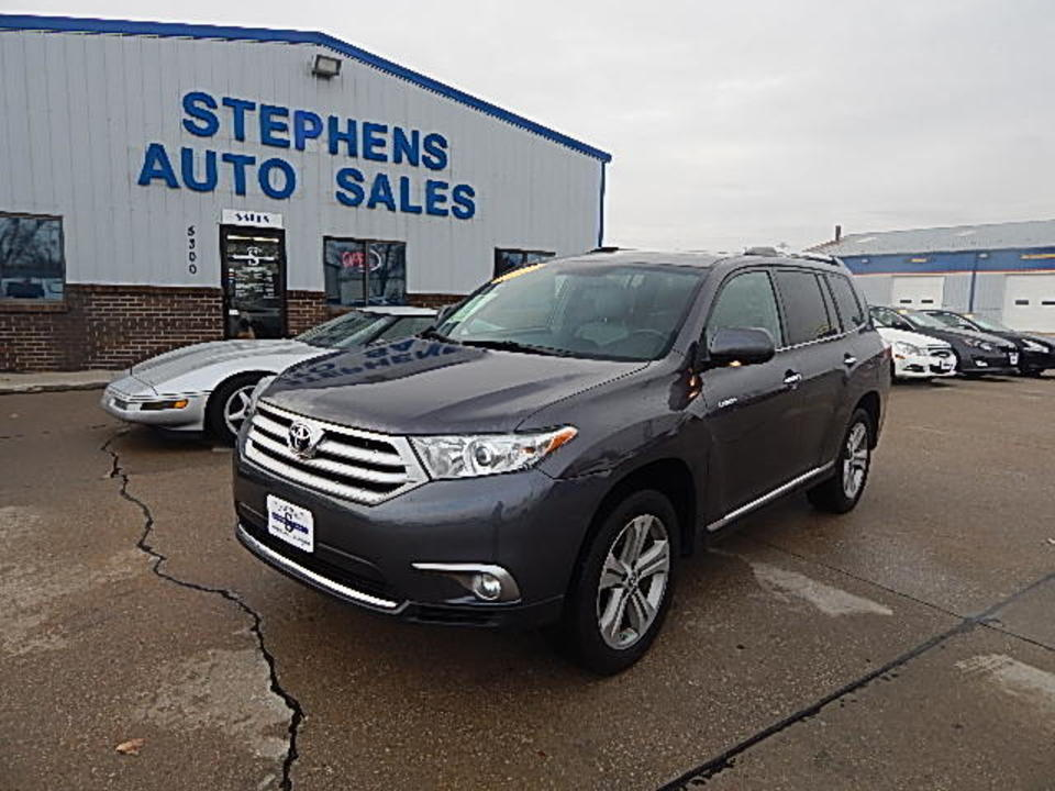 2013 Toyota Highlander  - Stephens Automotive Sales