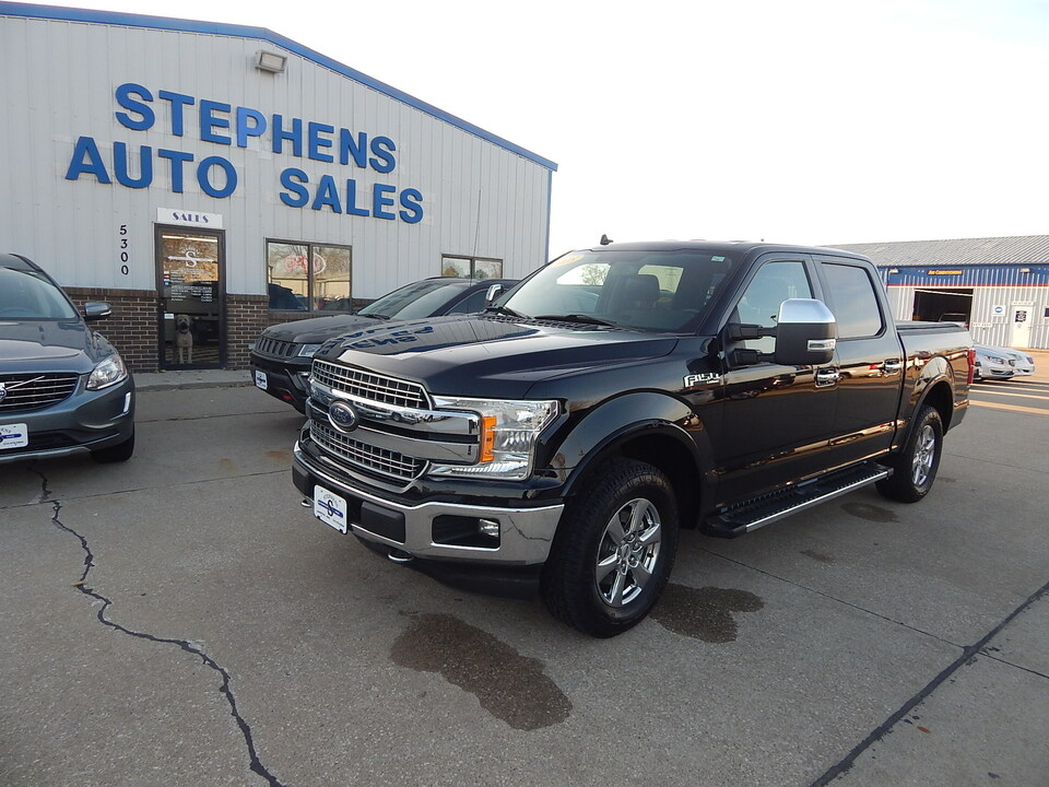 2018 Ford F-150 LARIAT  - KE87214  - Stephens Automotive Sales