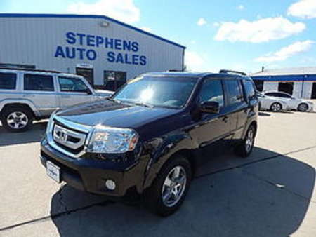 2011 Honda Pilot EX-L for Sale  - 3  - Stephens Automotive Sales