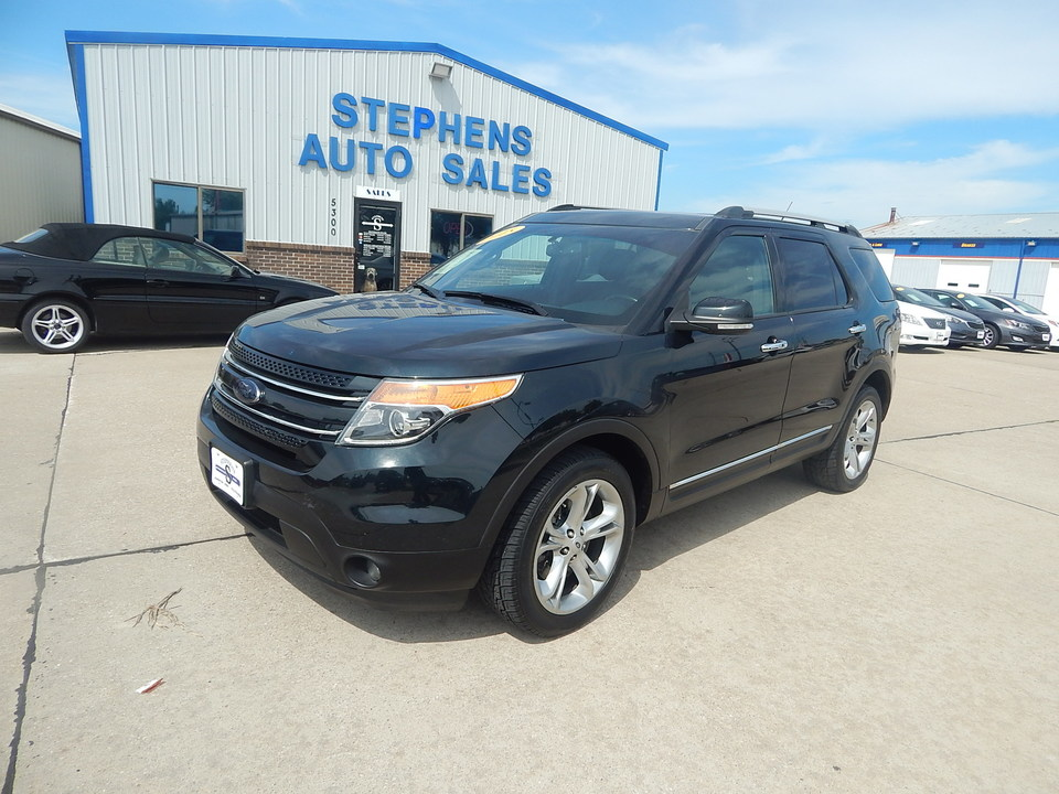 2015 Ford Explorer Limited  - 23Q  - Stephens Automotive Sales
