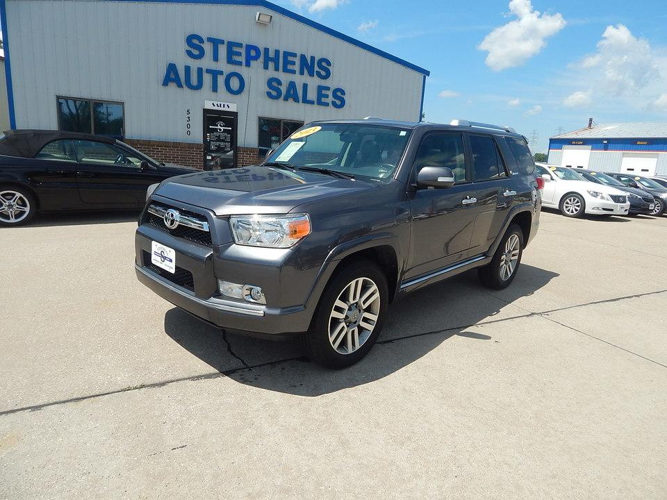 2013 Toyota 4Runner  - Stephens Automotive Sales