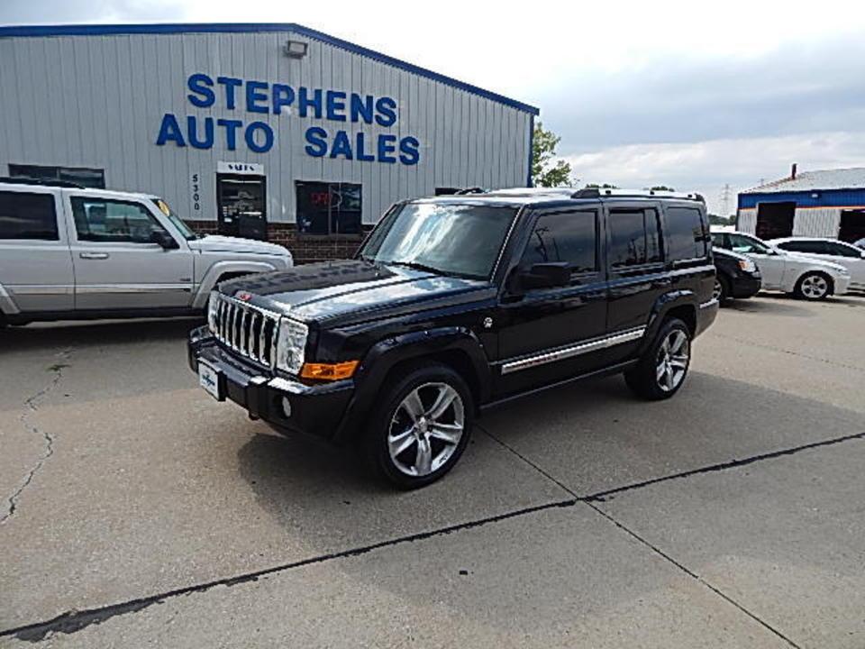 2006 jeep commander limited stock 263946 johnston ia 50131