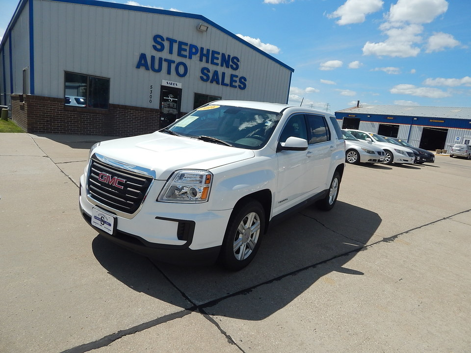 2016 GMC TERRAIN SLE  - 12O  - Stephens Automotive Sales