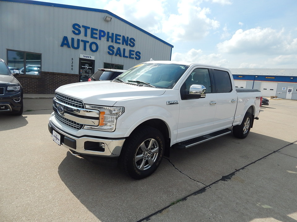 2018 Ford F-150 LARIAT  - E87202  - Stephens Automotive Sales