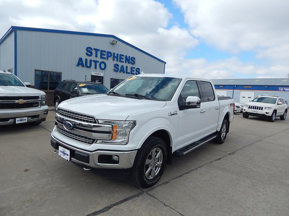 2018 Ford F-150 LARIAT  - C17054  - Stephens Automotive Sales