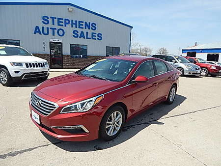 2015 Hyundai Sonata 2.4L SE for Sale  - 18  - Stephens Automotive Sales