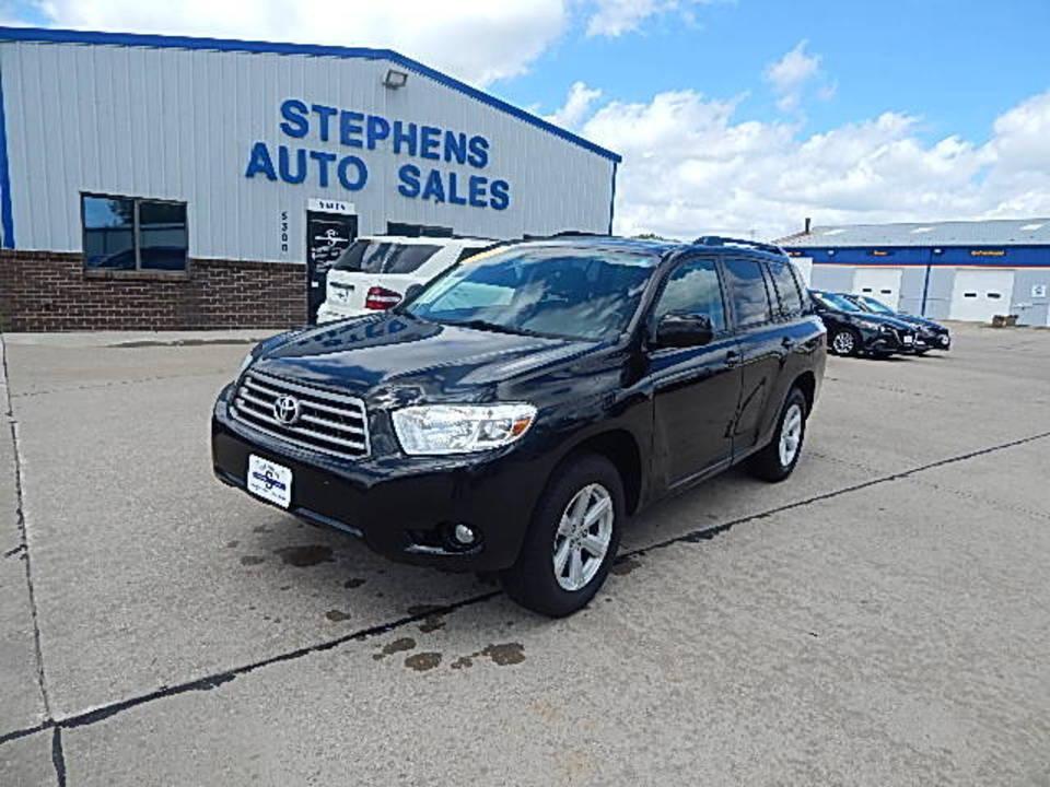 2010 Toyota Highlander  - Stephens Automotive Sales