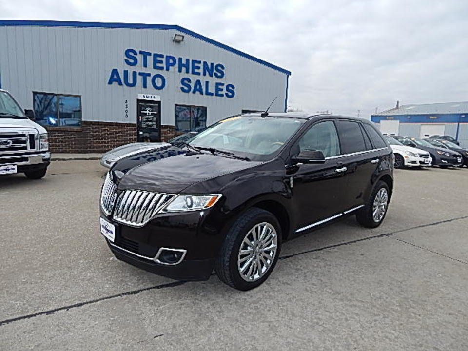 2013 Lincoln MKX  - 12995  - Stephens Automotive Sales