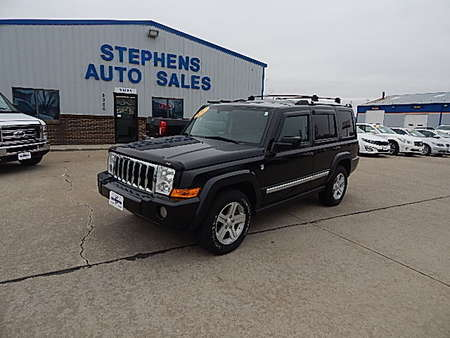 2009 Jeep Commander Limited for Sale  - 515361  - Stephens Automotive Sales