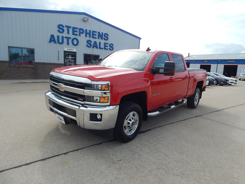 2018 Chevrolet Silverado 2500HD  - Stephens Automotive Sales