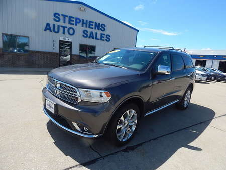 2016 Dodge Durango Citadel for Sale  - 21M  - Stephens Automotive Sales